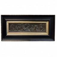 Victorian Errotic Bronze Wall Plaque. Click for more information...