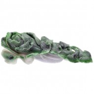 Chinese Carved Dyed Quarts. Click for more information...