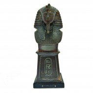Egyptian Revival Bust of Tut Ankh. Click for more information...