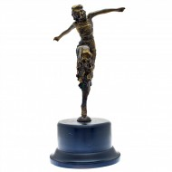 Art Deco Bronze Lady. Click for more information...