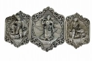 Siam Silver Belt Buckle. Click for more information...