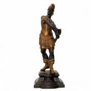 Victorian Spelter Figurine Gladiator. Click for more information...