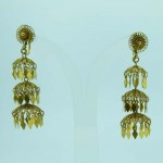 14K Gold Hand Made Chinese Screw-on Earrings. Click for more information...