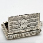 Sterling Silver Vesta. Click for more information...