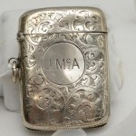 Sterling Silver Vesta Case. Click for more information...