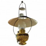 Miller Juno Large Size Tin Shaded Hanging Light.. Click for more information...