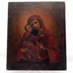 Icon Madonna and Child. Click for more information...