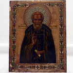 Icon. Hand painted and Gilded. Click for more information...