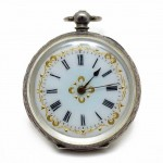 Swiss Pocket Watch 935 silver. Click for more information...