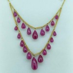 Cabachon Ruby Necklace. Click for more information...