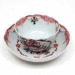 New Hall Tea Bowl and Saucer. Click for more information...