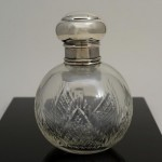 Sterling Silver Perfume Bottle. Click for more information...