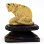 Carved Ivory Tiger. Click for more information...