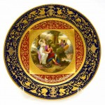 Royal Vienna Plate. Click for more information...