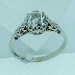 1920 1.64 carat DIAMOND Ring. Click for more information...